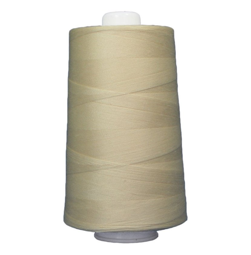 OMNI #3048 Butter 6000 yds Poly-wrapped poly core