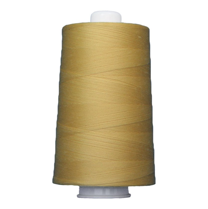 OMNI #3051 Banana 6000 yds Poly-wrapped poly core