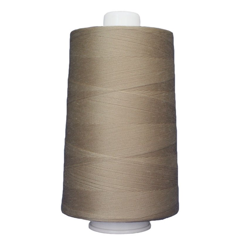 OMNI #3068 Beige 6000 yds Poly-wrapped poly core