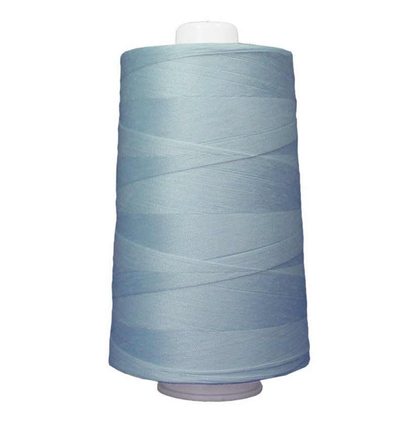 OMNI #3087 Blue Ice 6000 yds Poly-wrapped poly core