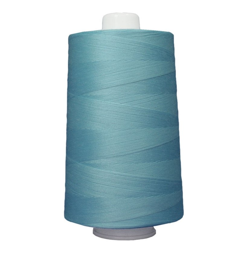 OMNI #3089 Light Turquoise 6000 yds Poly-wrapped poly core