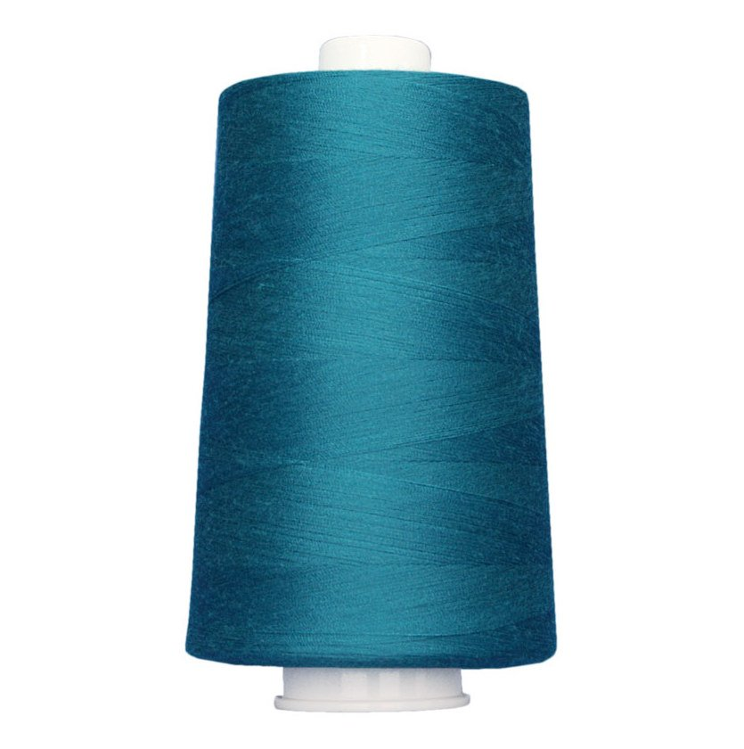 OMNI #3093 Blue Teal 6000 yds Poly-wrapped poly core