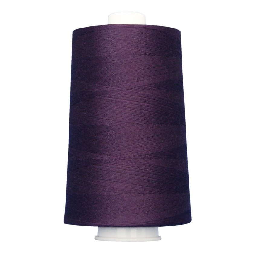 OMNI #3117 Plush Purple 6000 yds Poly-wrapped poly core
