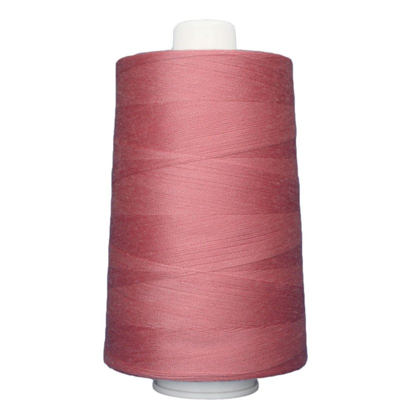 OMNI #3132 Rose Petal 6000 yds Poly-wrapped poly core