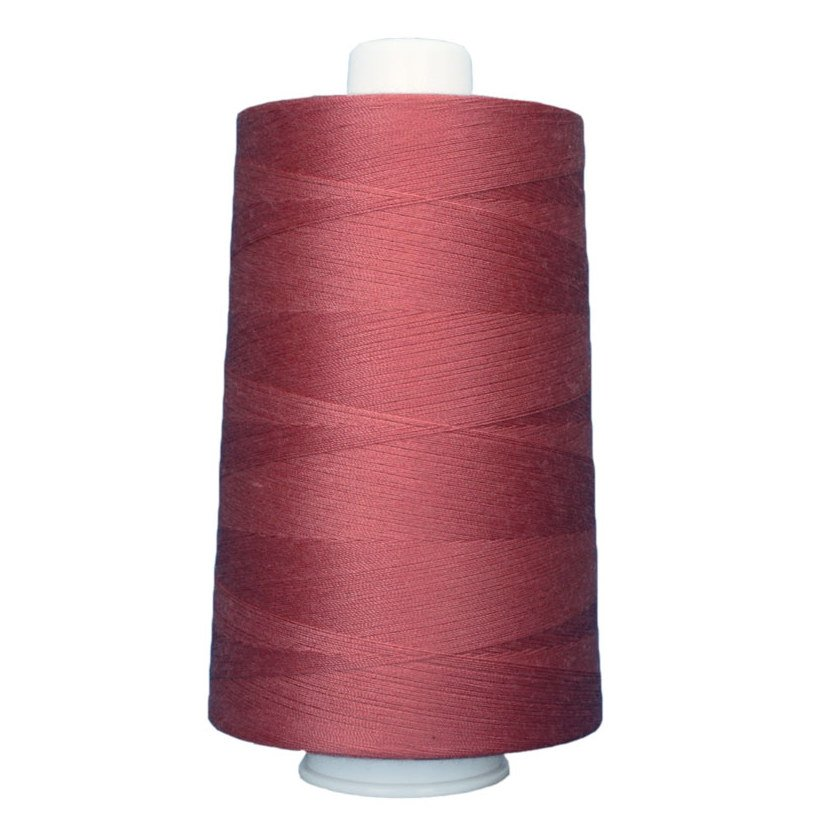 OMNI #3133 Rose 6000 yds Poly-wrapped poly core