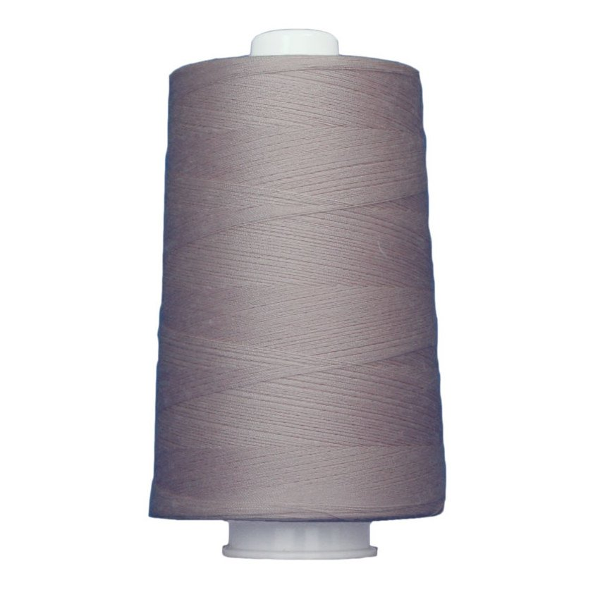 OMNI #3136 Light Mauve 6000 yds Poly-wrapped poly core