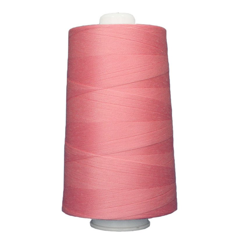 OMNI #3137 Candy Pink 6000 yds Poly-wrapped poly core