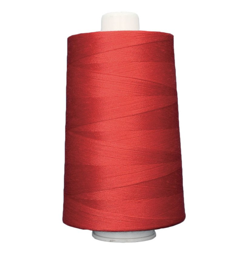 OMNI #3139 Hot Lips 6000 yds Poly-wrapped poly core