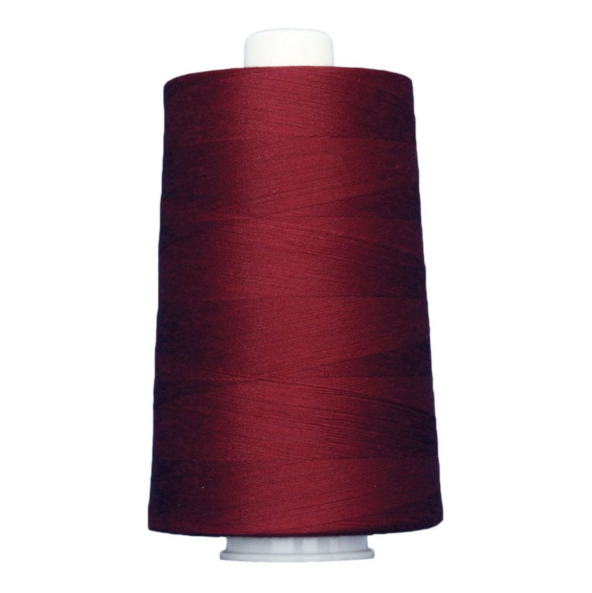 OMNI #3144 Cranberry 6000 yds Poly-wrapped poly core