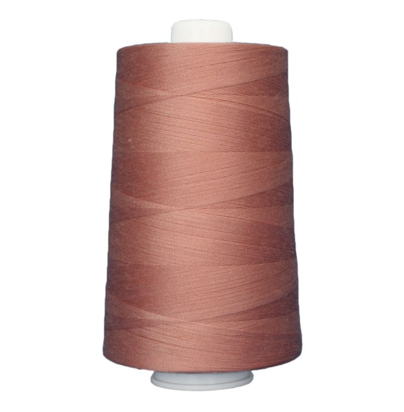 OMNI #3150 Western Pink 6000 yds Poly-wrapped poly core
