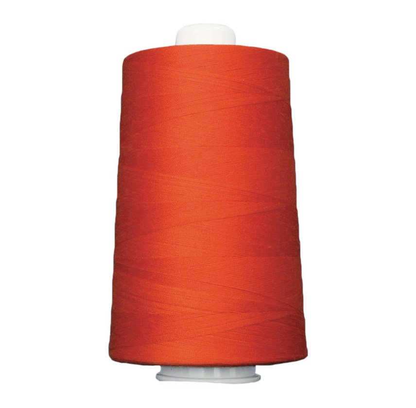 OMNI #3155 Tangerine 6000 yds Poly-wrapped poly core