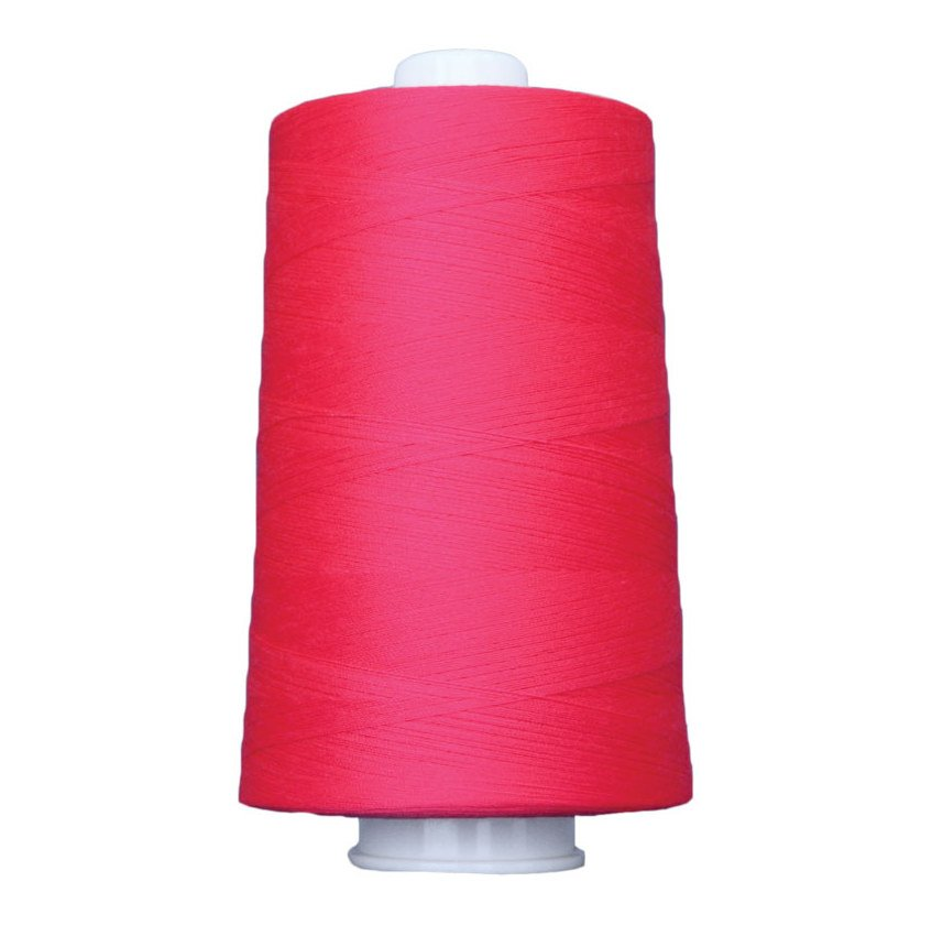 OMNI #3160 Neon Pink 6000 yds Poly-wrapped poly core