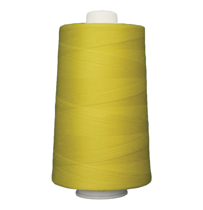 OMNI #3163 Mellow Yellow 6000 yds Poly-wrapped poly core
