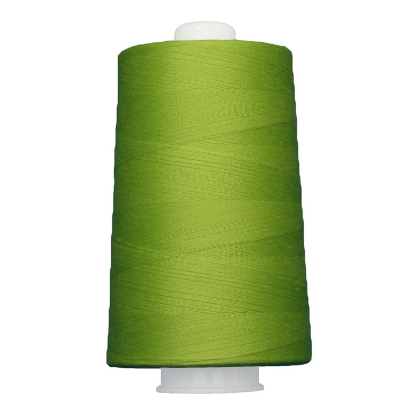 OMNI #3165 Bright Light Green 6000 yds Poly-wrapped poly core