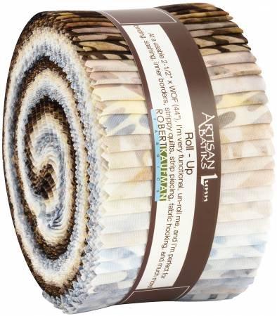 Precuts Roll Ups: Artisan Batiks: Texture Study Jelly Roll 2-1/2 strips