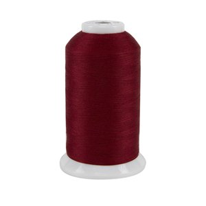 So Fine #50 #413 Scarlet 3280 yds polyester