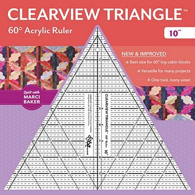 Clearview Triangle 60 Degree 10 in. *