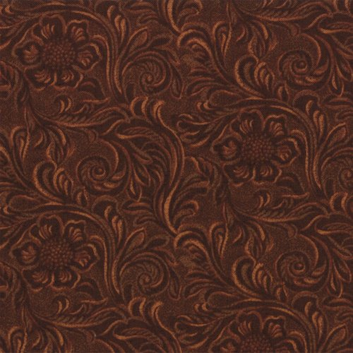 Western Basics 11216-15 Tooled Leather Brown