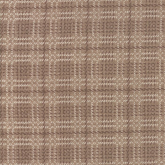Wool & Needle VI Flannel Oatmeal 1257-13F