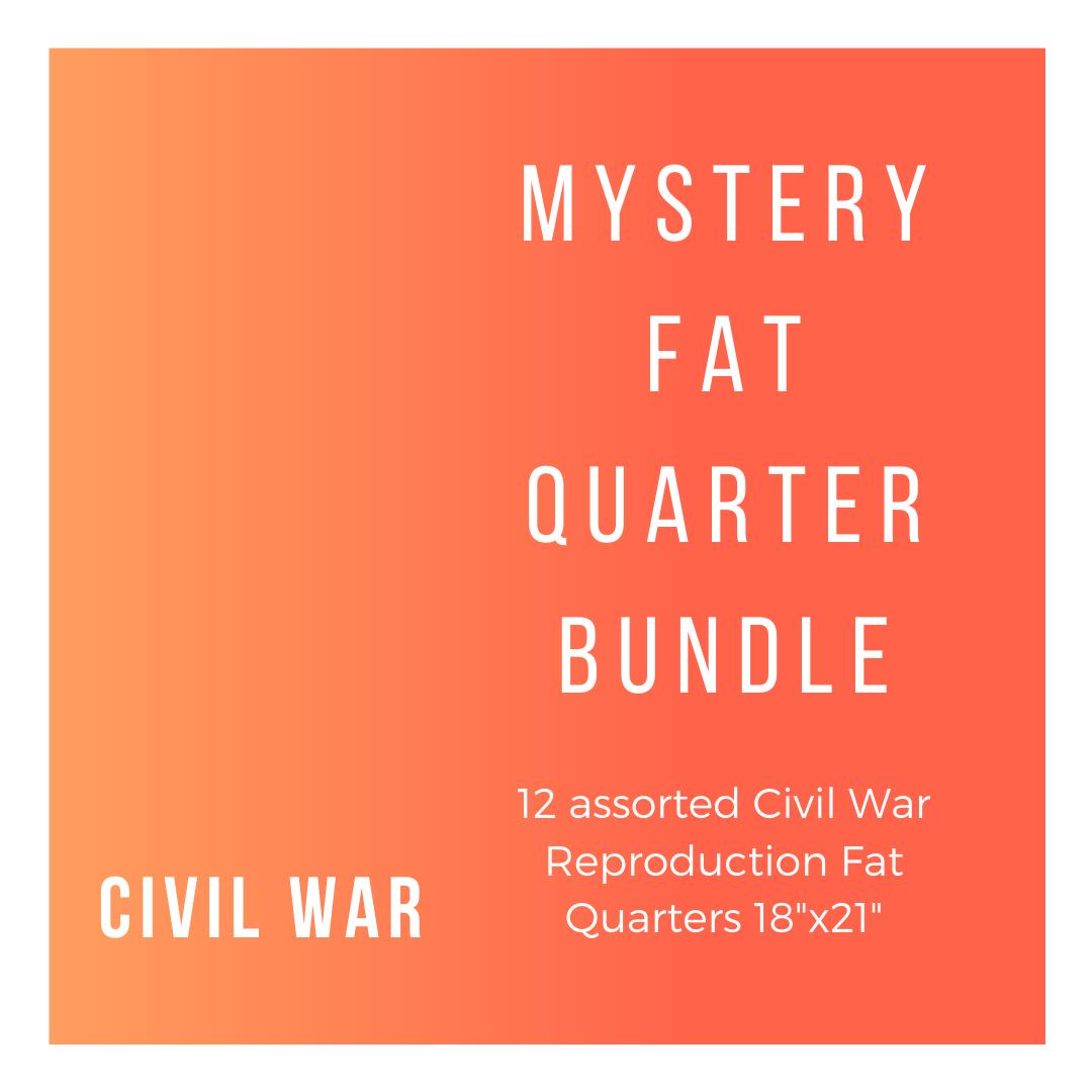 Civil War CW-12-FQB 12 Fat Quarters