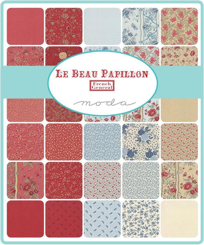 Le Beau Papillon 13860-FQB Fat Quarter Bundle