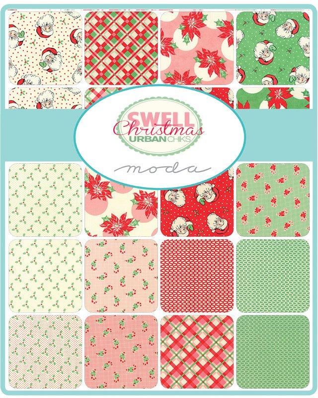Swell Christmas 31120-FQB Fat Quarter Bundle