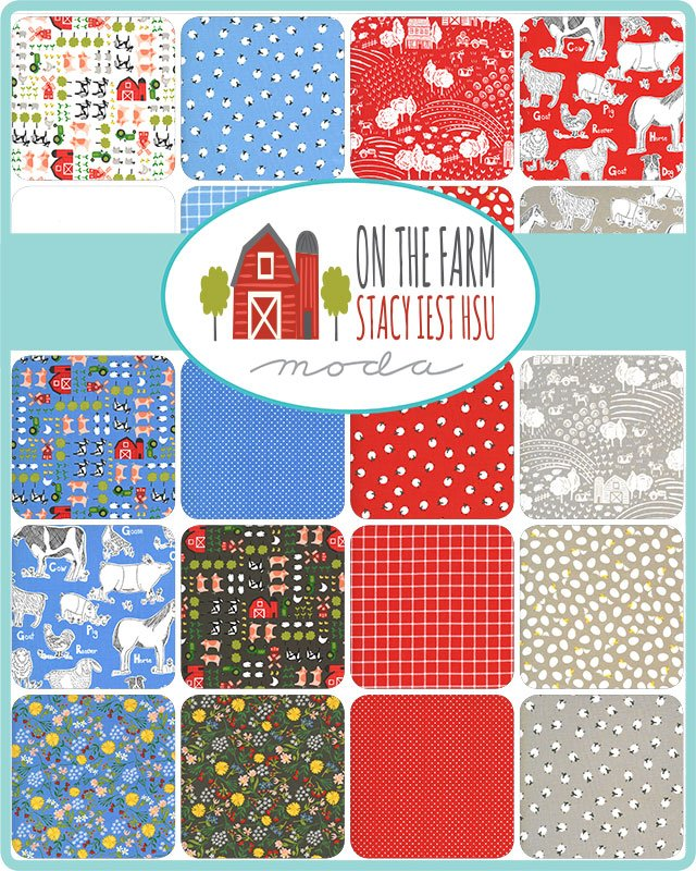 On the Farm 20700-FQB Fat Quarter Bundle