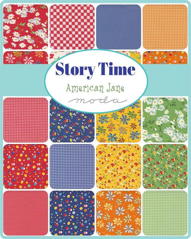 Story Time 21790FQB Panel/Fat Quarter Bundle