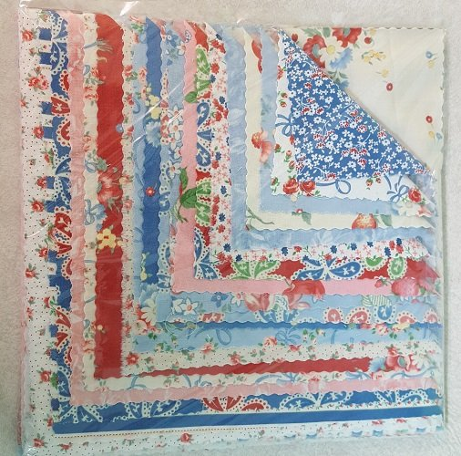 Picket Fence Junior Layer Cake PFJLC1 20-10 Squares