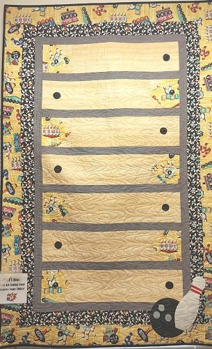 Let's Roll! Bowling Quilt Kit BQK