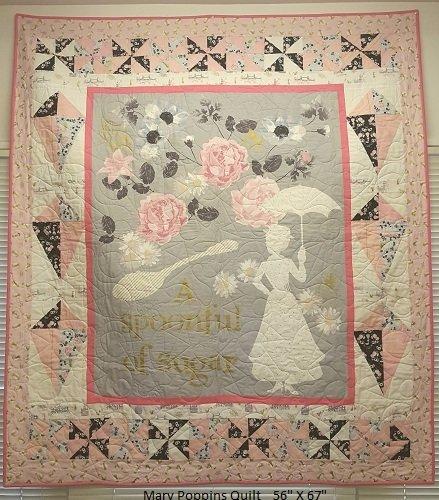 Mary Poppins Quilt Kit MPQK