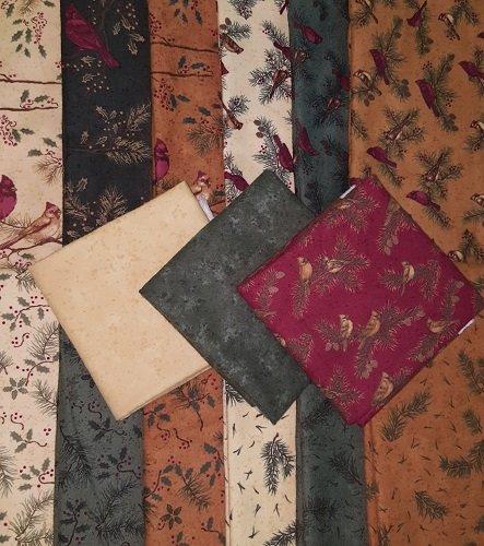Cardinal Reflections Flannel Fat Quarter Bundle CRB