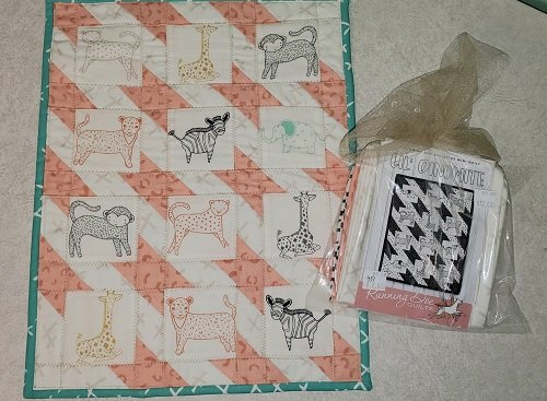 Lil Dinomite Mini Quilt Kit LDQK