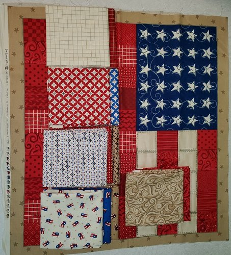 Sew American Panel/Fat Quarter Bundle SAB