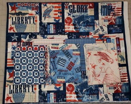 Land of Liberty LLB Panel/Fat Quarter Bundle