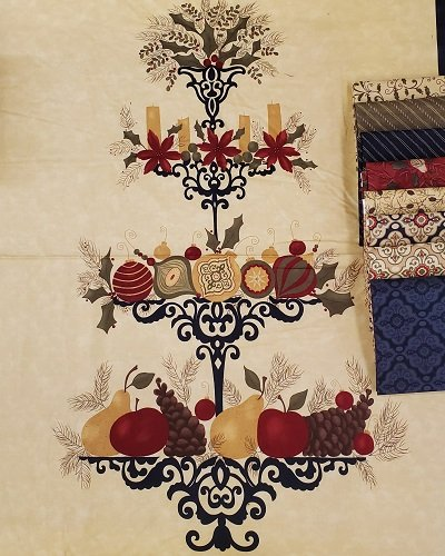 Pine Fresh Panel/Fat Quarter Bundle 17770-11FQB
