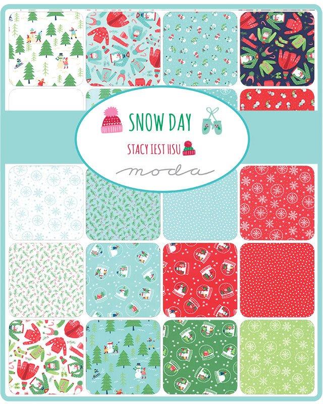 Snow Day 20630-FQB Fat Quarter Bundle