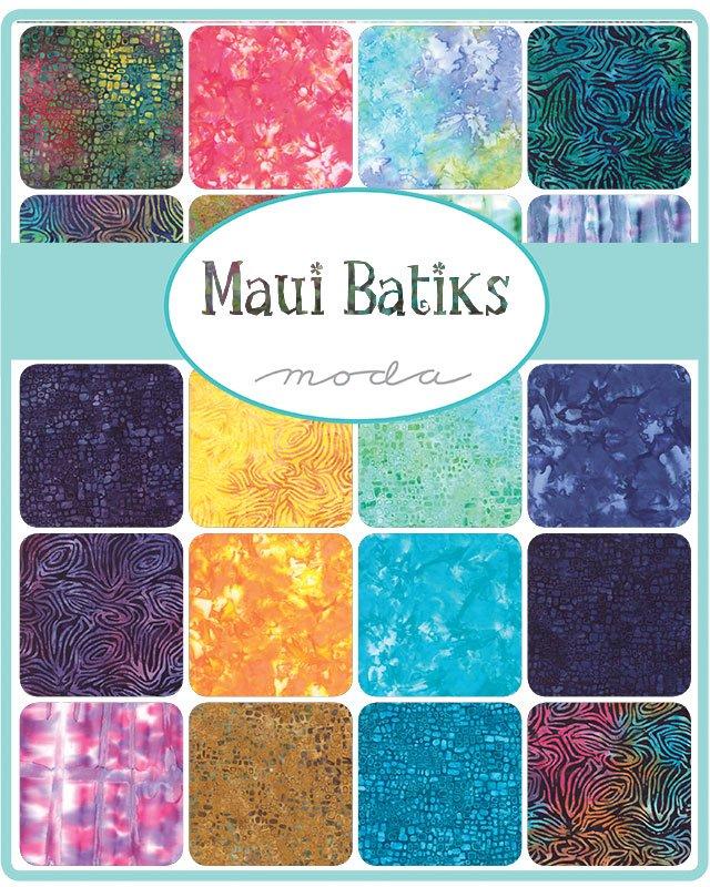 Maui Batiks 4353FQB Fat Quarter Bundle