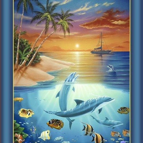 Dolphin Island 24591-Q