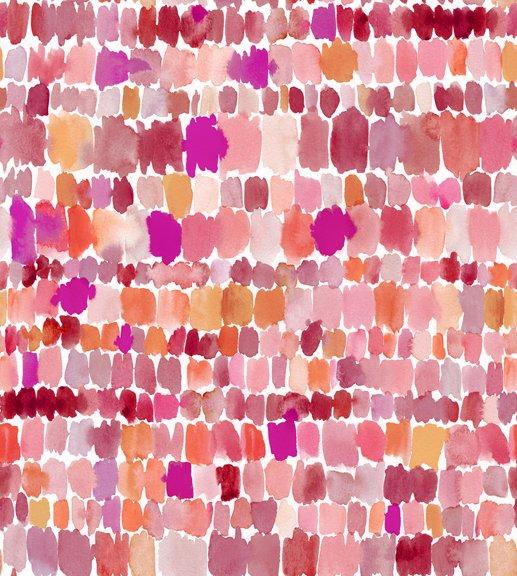 Wild & Fruity 27047-P Paint Splashes Pink