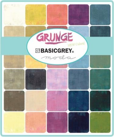 Grunge Basics New 2018 Fat Quarter Bundle