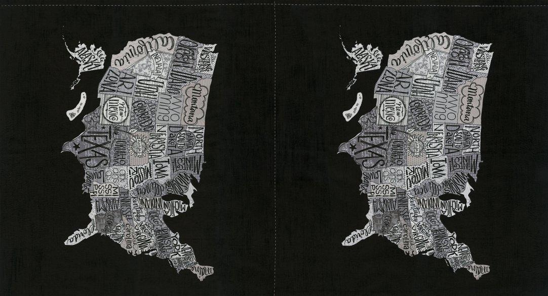 Metropolis Panel 24 x 44 Iron 30560-14