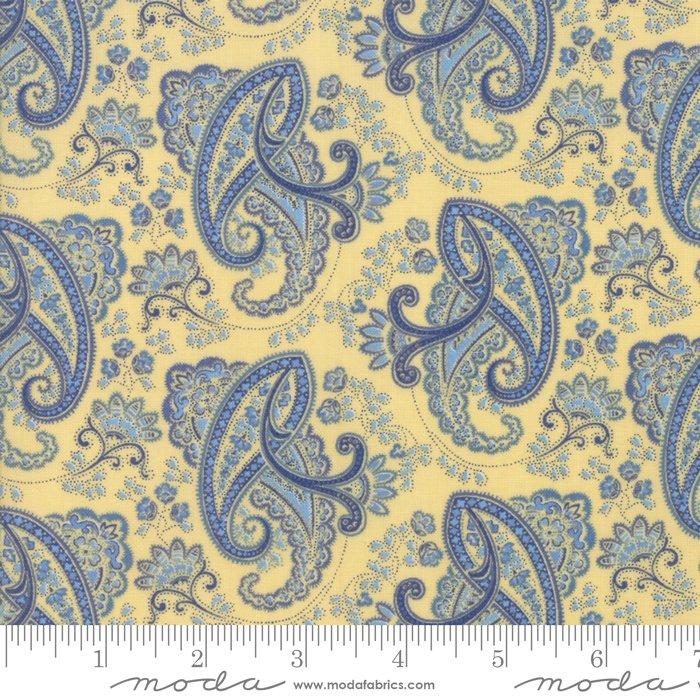 Regency Ballycastle Chintz 42325-11 Sudbury Yellow