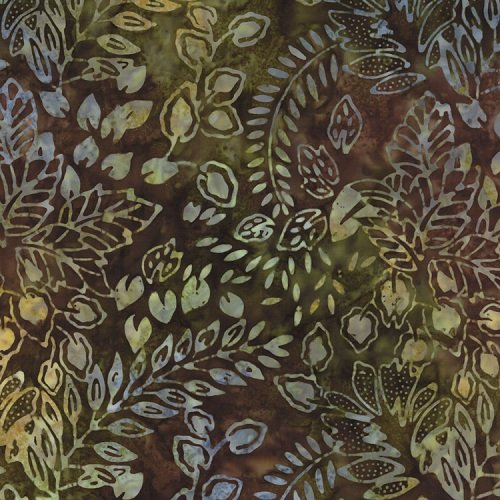 Color Splash Batiks 4321-21 Forest