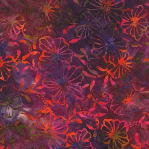 Color Splash Batiks 4321-39 Sunset