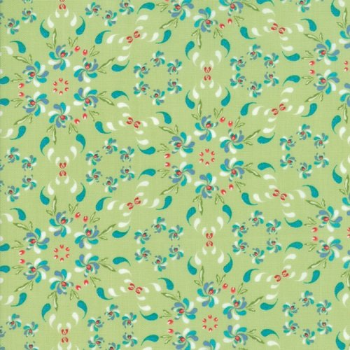 Coledale Floral Wreath Green 47520-12