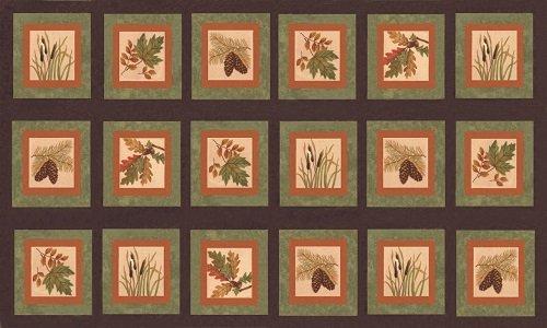 Fall Impressions Flannel 6700-14F