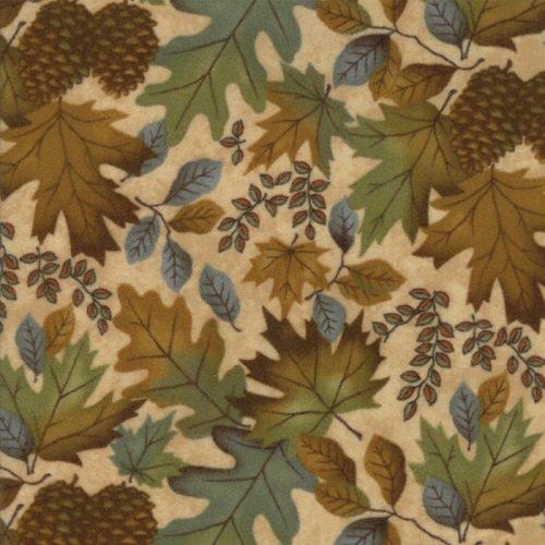 Fall Impressions Flannel 6701-11F
