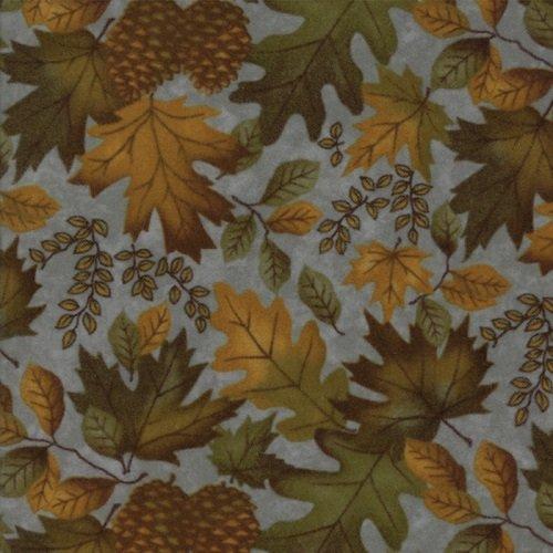 Fall Impressions Flannel 6701-15F