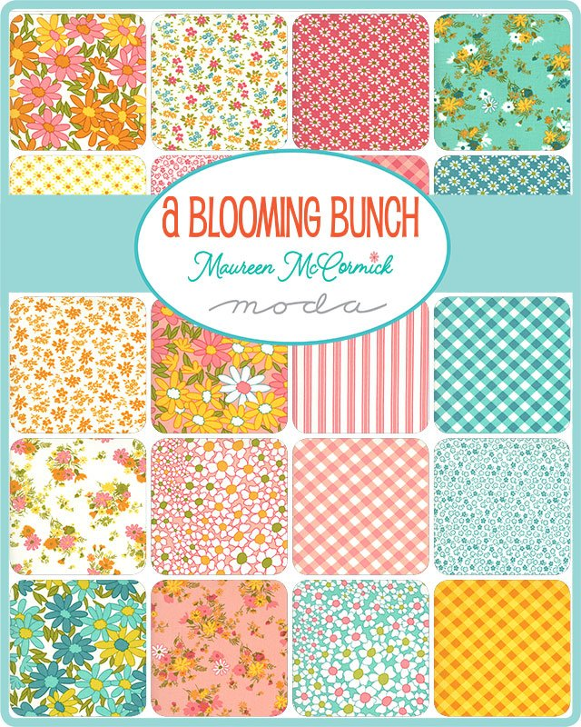 PRE-ORDER A Blooming Bunch 40040-FQB Fat Quarter Bundle